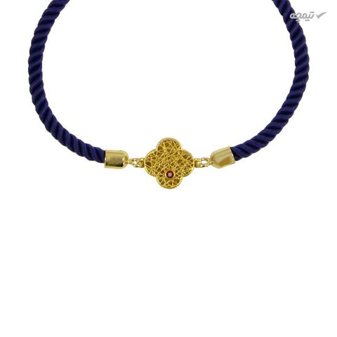 دستبند طلا 18 عیار زنانه مانچو کد BFG155