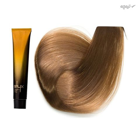 رنگ مو استایکس شماره 8.5 حجم 100 میلی لیتر رنگ ساج