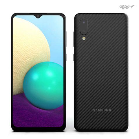 گوشی موبایل سامسونگ مدل Galaxy A02 دو سیم کارت، ظرفیت 32 گیگابایت با رم 3 گیگابایت