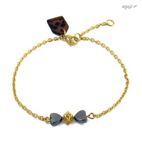 دستبند طلا 18عیار زنانه مانچو مدل bfg111