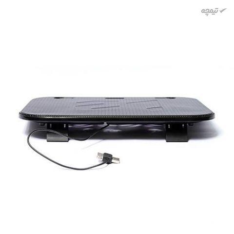 پایه خنک کننده هترون مدل HCP-090 مناسب برای لپ تاپ های تا 17 اینچی