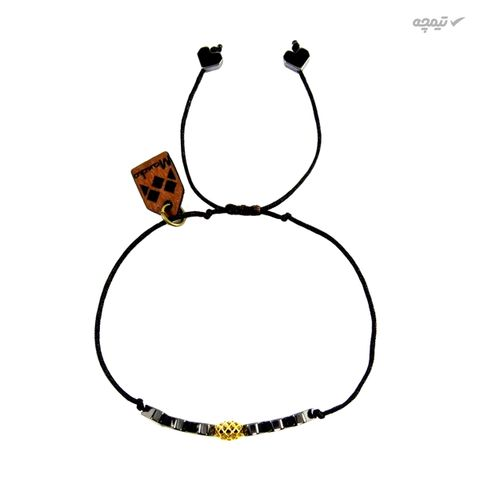 دستبند طلا 18 عیار مانچو مدل bfg056