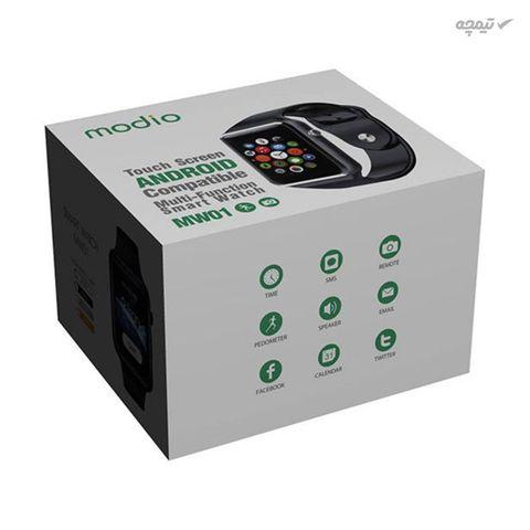 ساعت هوشمند مودیو مدل MW01 ساعت هوشمند مودیو مدل MW01 با صفحه نمایش TFT